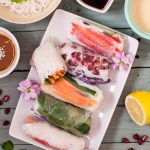 Colourful Vegan Summer Rolls