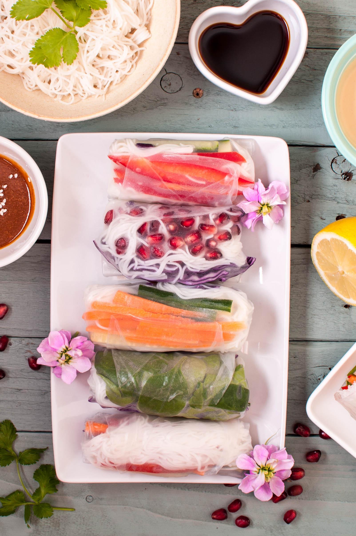 vegan summer rolls