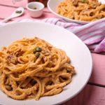 Sun-dried Tomato Spaghetti  - Pasta Recipe