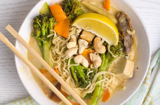 Red Thai Curry Ramen