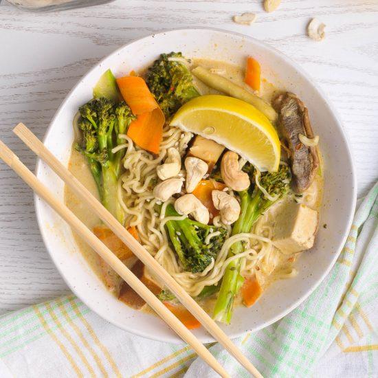 Red Thai Curry Ramen
