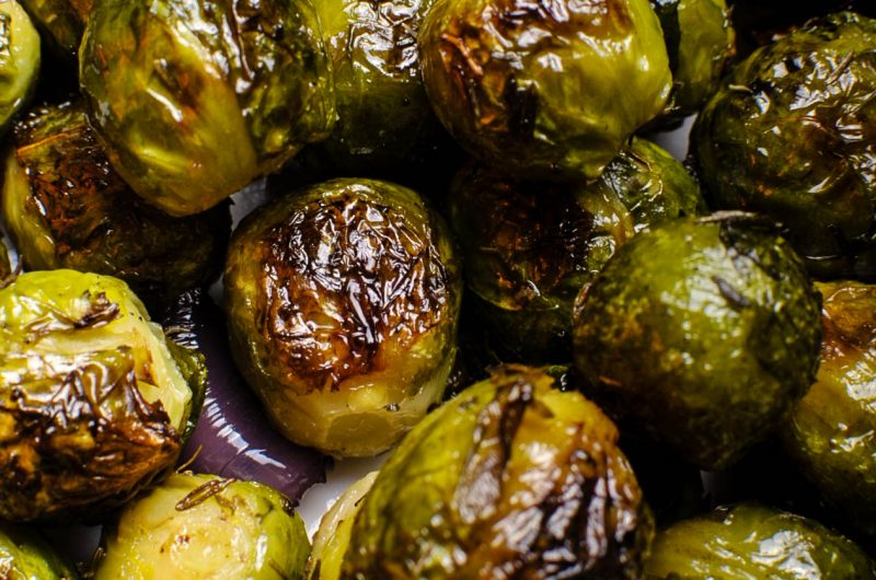 Roasted Brussels Sprouts - The tastiest recipe ever!