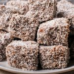 Vegan Lamingtons - Chocolate Coconut Squares