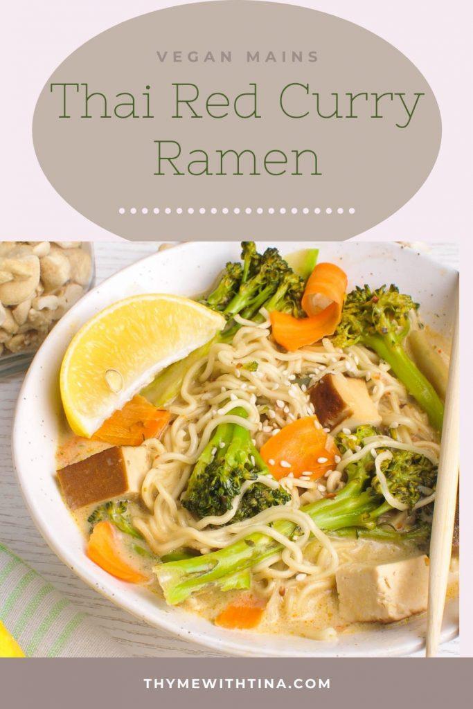 Pinterest Thai Curry vegan