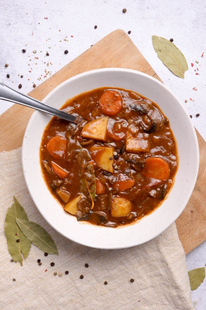 No beef vegan stew