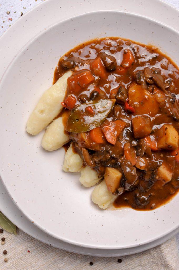 No beef vegan stew