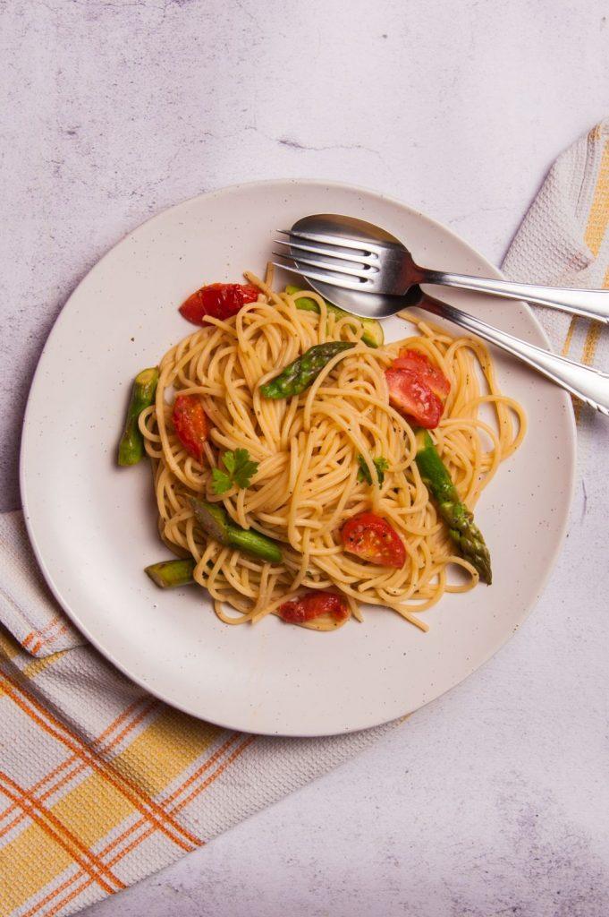 Asparagus vegan recipes
